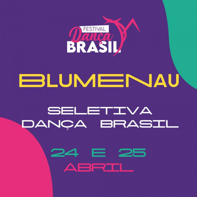 Festival Dança Brasil - Blumenau 2020