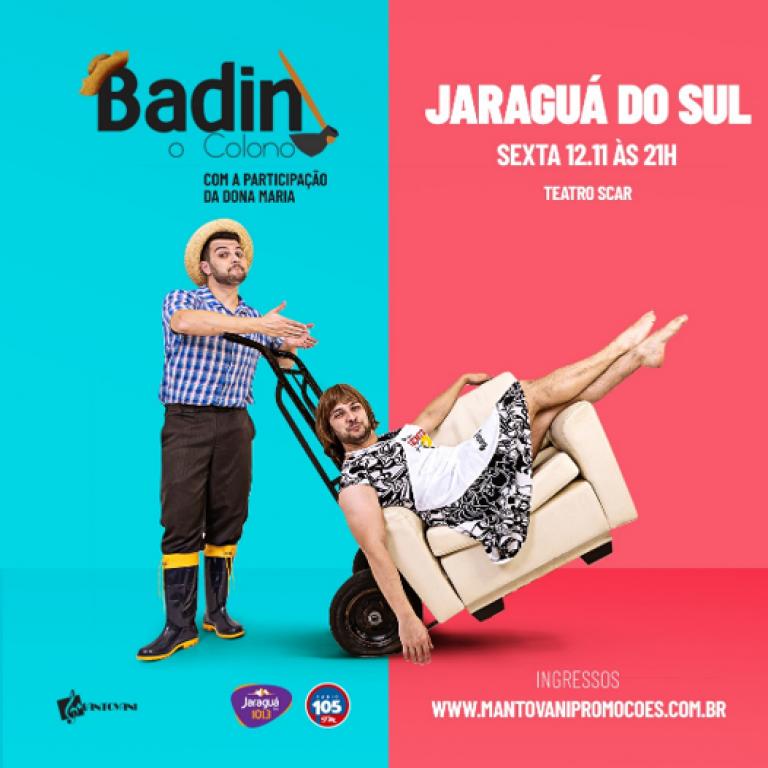 BADIN - O colono - Part. Dona Maria